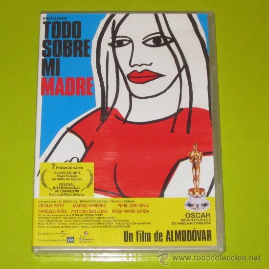 DVD.- TODO SOBRE MI MADRE - PEDRO ALMODOVAR - MARISA PAREDES - 1 OSCAR (Cine - Películas - DVD)
