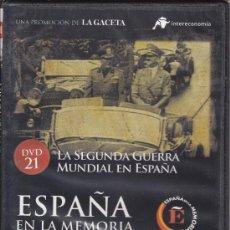 Cine: LA SEGUNDA GUERRA MUNDIAL EN ESPAÑA. ESPAÑA EN LA MEMORIA. Nº 21. (II, HITLER). Lote 29043182