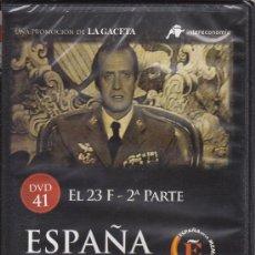 Cine: EL 23 F - 2ª PARTE. ESPAÑA EN LA MEMORIA. Nº 41. (ANTONIO TEJERO, GOLPE DE ESTADO). Lote 30649044
