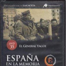 Cine: EL GENERAL YAGÜE. ESPAÑA EN LA MEMORIA. Nº 35. (MILITAR, FRANCO, GUERRA CIVIL). Lote 114591847