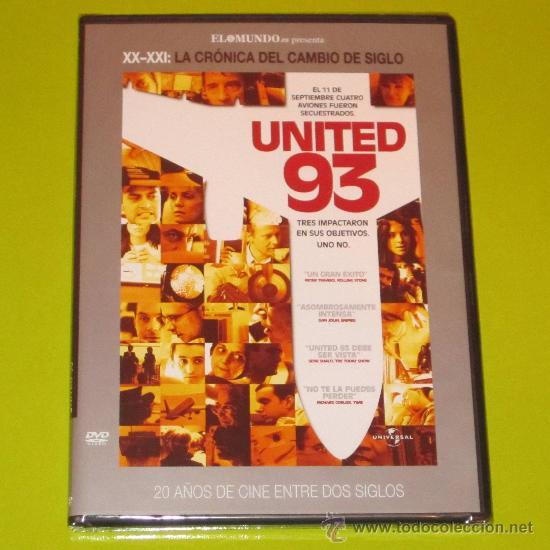 DVD.- UNITED 93 - TORRES GEMELAS (11 DE SEPTIEMBRE) - PRECINTADA (Cine - Películas - DVD)