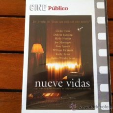 Cine: NUEVE VIDAS, RODRIGO GARCIA, DVD. Lote 29109828