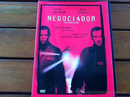 NEGOCIADOR, SAMUEL L JACKSON, KEVIN SPACEY (Cine - Películas - DVD)