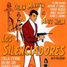 Cine: LOS SILENCIADORES (DVD PRECINTADO) DEAN MARTIN ES MATT HELM FILM NO ESTRENADO EN ESPAÑA. Lote 262074350