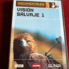 Cine: VISION SALVAJE 1 . DVD . DOCUMENTALES BBC EL PAIS . Nº 1. Lote 29291121