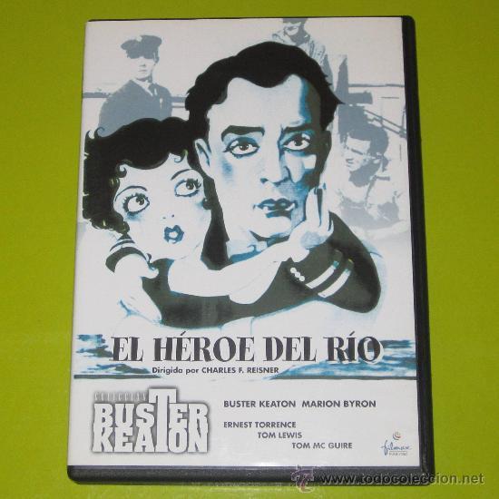 DVD.- EL HEROE DEL RIO - BUSTER KEATON - CINE MUDO - DESCATALOGADA - DE CULTO (Cine - Películas - DVD)