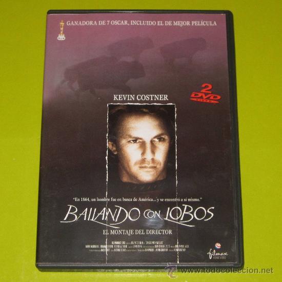 DVD.- BAILANDO CON LOBOS (MONTAJE DEL DIRECTOR - 2 DVDS) - 7 OSCARS - KEVIN COSTNER - DESCATALOGADA (Cine - Películas - DVD)
