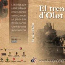 Cine: DVD EL TREN D'OLOT - FERROCARRIL OLOT-GIRONA. Lote 29727939