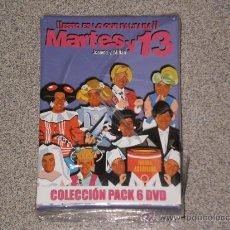 Cine: SUPER PACK DE MARTES Y TRECE , 6 DVDS A ESTRENAR PRECINTADOS . ( !! ESTO ES LO QUE FALTABA !! ) 2004. Lote 29867432