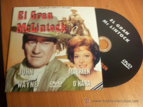 EL GRAN MCLINTOCK. JOHN WAYNE - MAUREEN O´HARA (Cine - Películas - DVD)