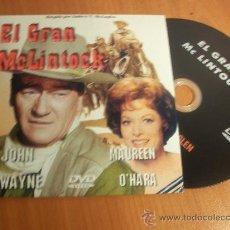 Cine: EL GRAN MCLINTOCK. JOHN WAYNE - MAUREEN O´HARA. Lote 29908127