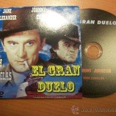 Cine: EL GRAN DUELO. KIRK DOUGLAS. JOHNY CASH. Lote 29908148