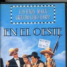 Cine: LOS HERMANOS MARX / EN EL OESTE (VHS). Lote 30322149