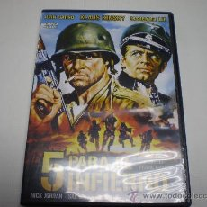 Cine: 5 PARA EL INFIERNO - FRANK KRAMER - DVD - JOHN GARKO -KLAUS KINSKY - 1070 7.. Lote 30564586