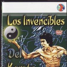 Cine: DVD NUEVO - LOS INVENCIBLES DEL KARATE - MENG FEI, LIU CHUNG LIANG - KUNG FU, ARTES MARCIALES - VER+. Lote 30645014