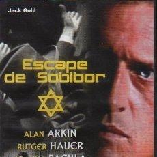 Cine: ESCAPE DE SOBIBOR - DVD - JOANNA PACULA - ALAN ARKIN - RUTGER HAUER - EXCELENTE - NO CORREOS. Lote 30839833