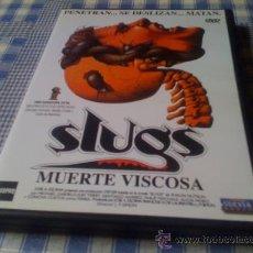 Cine: SLUGS MUERTE VISCOSA - PELÍCULA EN DVD - CINE DE TERROR MIEDO DESCATALOGADO. Lote 31126663