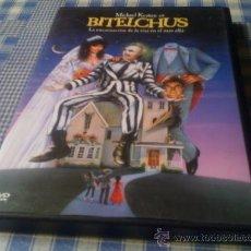 Cine: BITELCHUS (BEETLEJUICE) - PELÍCULA EN DVD - CINE DE TERROR MIEDO DESCATALOGADO. Lote 31126793