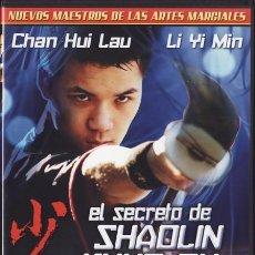 Cine: DVD PRECINTADO - EL SECRETO DE SHAOLIN KUNG FU - 1979 - KUNG FU, ARTES MARCIALES - VER+++++. Lote 30891825