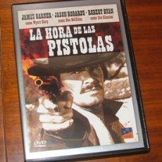 Cine: DVD 'LA HORA DE LAS PISTOLAS' (JOHN STURGES, JAMES GARNER, JASON ROBARDS, ROBERT RYAN). Lote 30995649