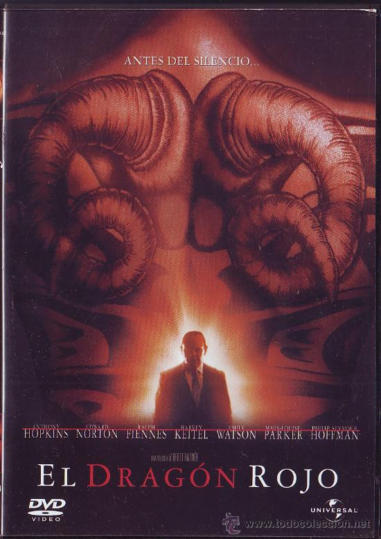 UXD EL DRAGON ROJO DVD TERROR INTRIGA CRIMEN ANTONY HOPKINS BRETT RATNER NORTON FIENNES (Cine - Películas - DVD)