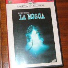 Cinema: DVD 'LA MOSCA' (DAVID CRONENBERG, JEFF GOLDBLUM, GEENA DAVIS). Lote 31024717
