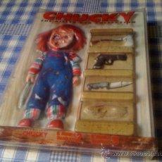Cine: CHUCKY THE KILLER DVD COLLECTION EL MUÑECO DIABÓLICO 2 3 LA NOVIA Y SEMILLA DE NUEVA ESPAÑOLA. Lote 31573559