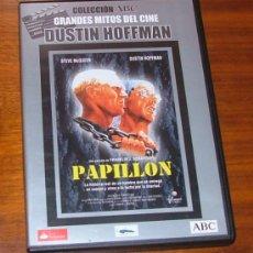 Cine: DVD 'PAPILLON' (FRANKLIN J. SCHAFFNER, STEVE MCQUEEN, DUSTIN HOFFMAN). Lote 31141121