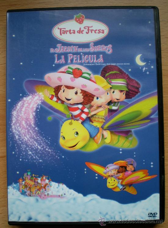 TARTA DE FRESA EL JARDÍN DE LOS SUEÑOS (Cine - Películas - DVD)