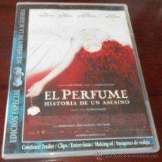 Cine: DVD --- EL PERFUME (HISTORIA DE UN ASESINO) --- DE TOM TYKWER. CON ALAN RICKMAN Y DUSTIN HOFFMAN. Lote 31346807