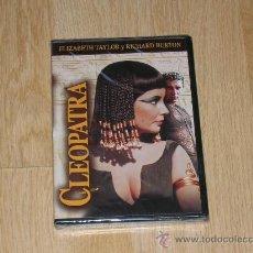 Cine: CLEOPATRA EDICION ESPECIAL 2 DVD ELIZABETH TAYLOR RICHARD BURTON NUEVA PRECINTADA. Lote 288579588