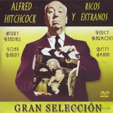 Cine: UXD RICOS Y EXTRAÑOS DVD SUSPENSE ALFRED HITCHCOCK HERRY KENDALL PERCY MARMONT JOAN BARRY INTRIGA. Lote 31565987