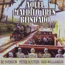 Cine: UXD AQUEL MALDITO TREN BLINDADO DVD GUERRA MUNDIAL BO SVENSON PETER HOOTEN FRED WILLIAMSON ALEMANES. Lote 31576379
