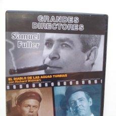 Cinema: EL DIABLO DE LAS AGUAS TURBIAS / LA CASA DE BAMBÚ. SAMUEL FULLER. COL. GRANDES DIRECTORES. DVD. Lote 31657544