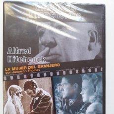 Cinema: LA MUJER DEL GRANJERO / SABOTAJE. HITCHCOCK. GRANDES DIRECTORES. DVD PRECINTADO. Lote 31657981