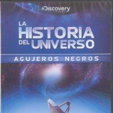 Cine: LA HISTORIA DEL UNIVERSO AGUJEROS NEGROS DVD NUEVO PRECINTADO DISCOVERY CHANNEL 2011. Lote 31708501