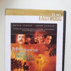 Cine: MEDIANOCHE EN EL JARDIN DEL BIEN Y DEL MAL. DE CLINT EASTWOOD. DVD. Lote 31747964