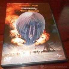 Cine: DVD --- HINDENBURG --- DE ROBERT WISE. CON GEORGE C SCOTT (PATTON) Y ANNE BANCROFT. Lote 31749114