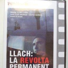 Cinema: LLACH: LA REVOLTA PERMANENT. COLECCIÓN PÚBLICO. PRECINTADA. DVD. Lote 31775264