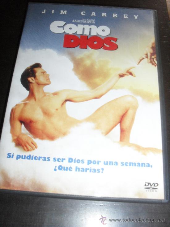 COMO DIOS. JIM CARREY. DVD. PELICULA. CASTELLANO. (Cine - Películas - DVD)