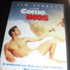 Cine: COMO DIOS. JIM CARREY. DVD. PELICULA. CASTELLANO.. Lote 31813010