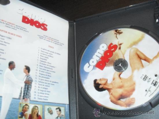 Cine: COMO DIOS. JIM CARREY. DVD. PELICULA. CASTELLANO. - Foto 2 - 31813010