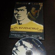 Cine: EL INVENCIBLE. BRUCE LEE. ARTES MARCIALES. DVD. PELICULA. CASTELLANO.. Lote 54537825
