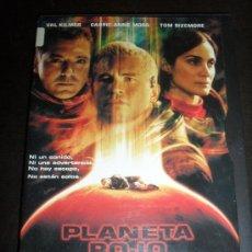 Cine: PLANETA ROJO. VAL KILMER. DVD. PELICULA. CASTELLANO.. Lote 31872815