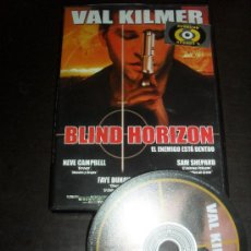 Cine: BLIND HORIZON. VAL KILMER. DVD. PELICULA. CASTELLANO.. Lote 31873073