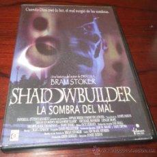 Cine: DVD --- SHADOWBUILDER (LA SOMBRA DEL MAL) --- DE BRAM STOKER, AUTOR DE DRACULA. CON LESLIE HOPE. Lote 32547664