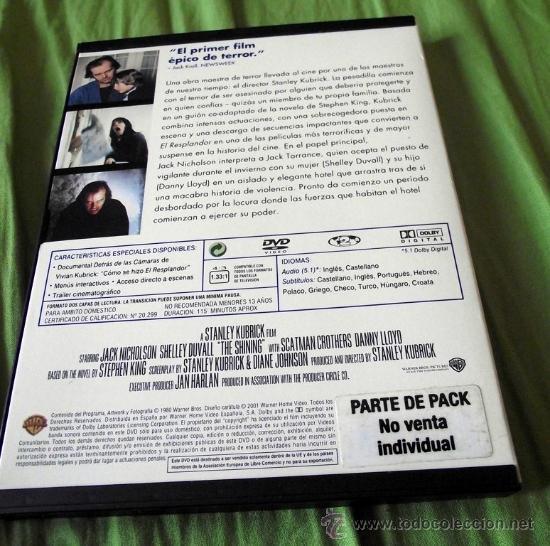 Cine: DVD El Resplandor - Stanley Kubrick 1980 - Foto 2 - 32085393