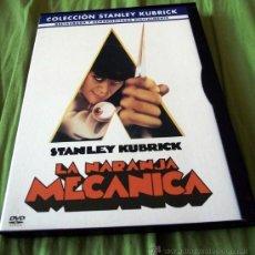 Cine: DVD LA NARANJA MECANICA - STANLEY KUBRICK 1971. Lote 32085507