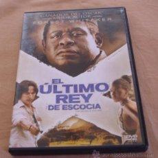 Cine: EL ULTIMO REY DE ESCOCIA - FOREST WHITAKER, JAMES MCAVOY, KERRY WASHIGTON - 20 CENTURY.. Lote 32106505