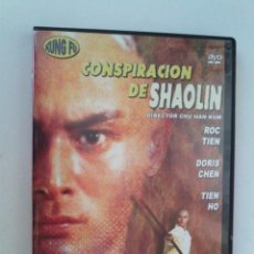 Cine: DVD NUEVO - CONSPIRACION DE SHAOLIN - KUNG FU, ARTES MARCIALES - VER++. Lote 53003407